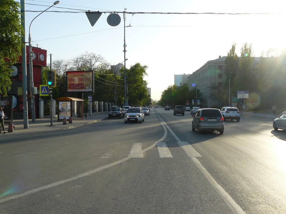 Текучева — Ворошиловский, сторона В Сторона B1