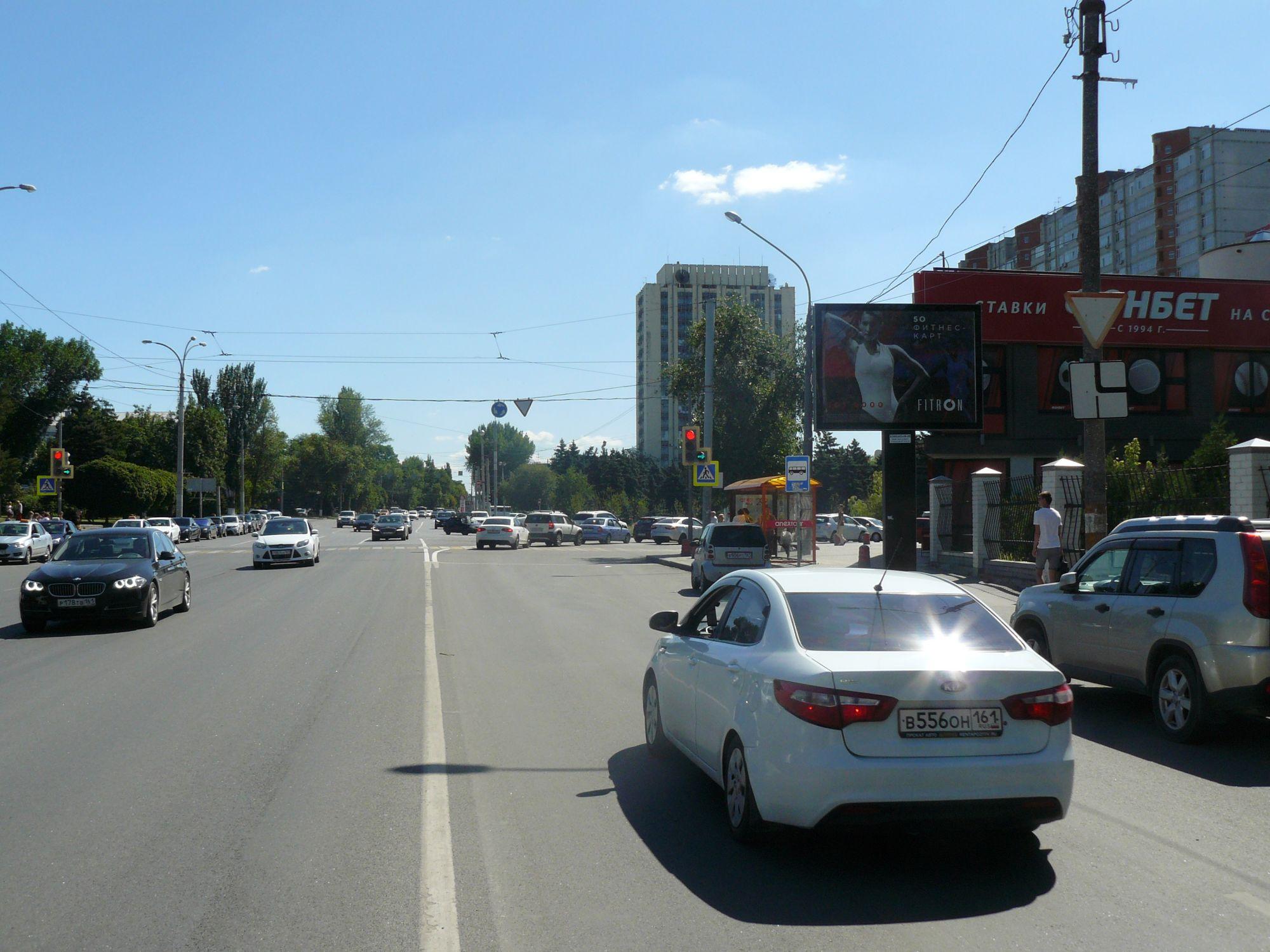 Текучева — Ворошиловский, сторона А Сторона A1
